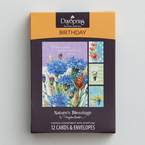 Nature's Blessings Birthday Cards