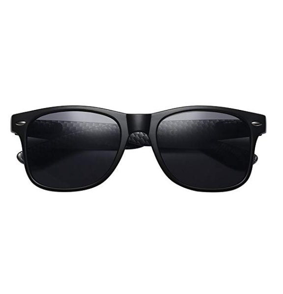 Sunglasses - Carbon Fiber & Matte Black
