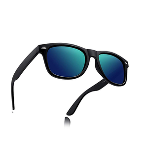 Sunglasses - Blue Green Chrome
