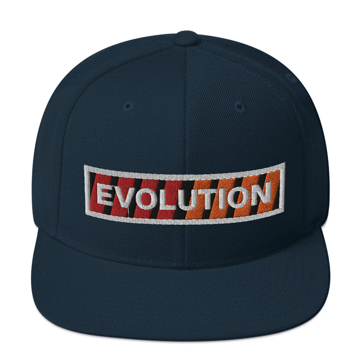 Evolution Lines Snapback Hat