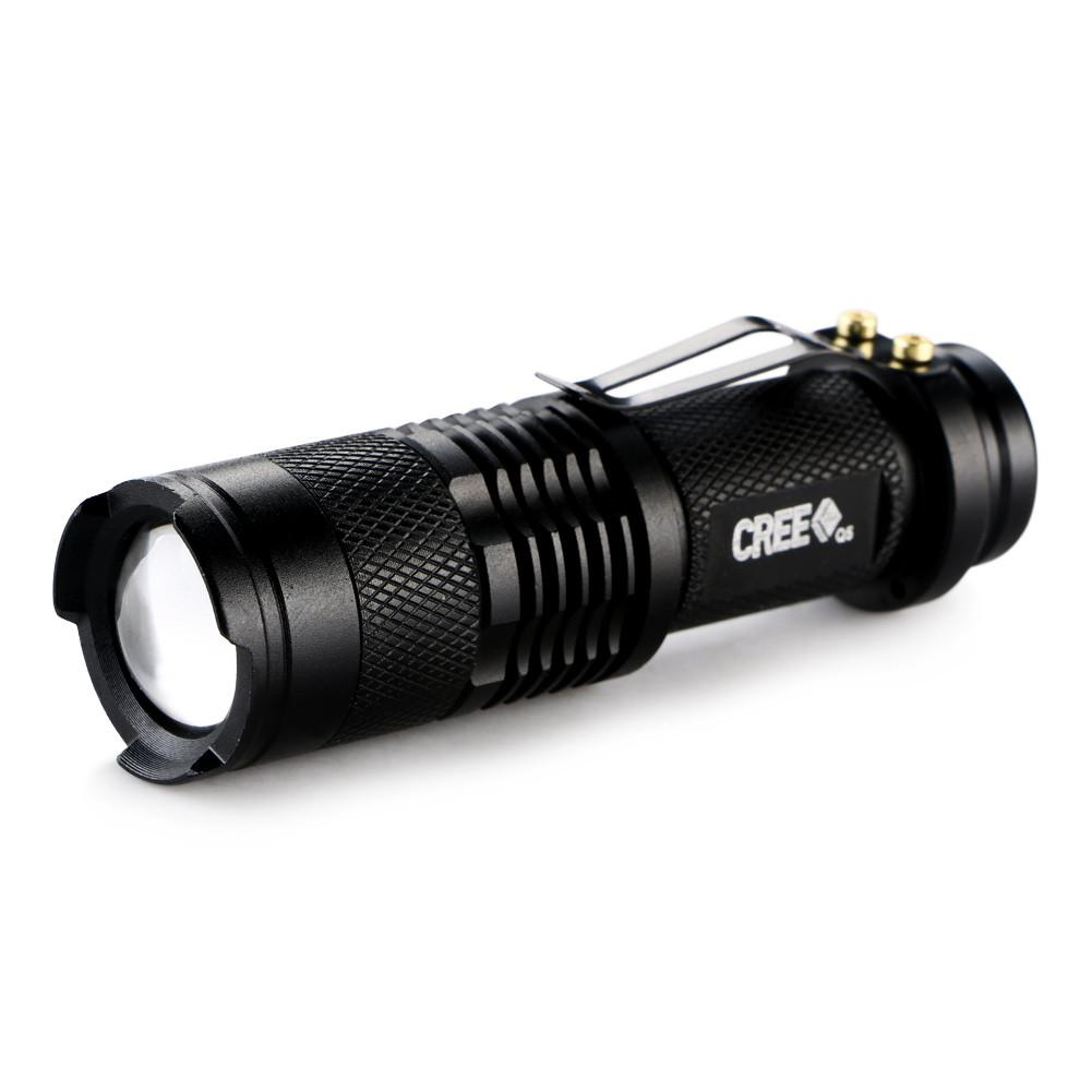 LED Flashlight Mini - CREE 300 Lumens