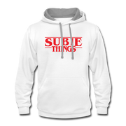 Subie Things Hoodie - white/gray