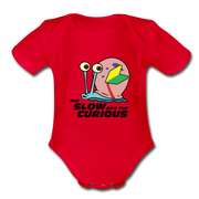 Slow And Curious Onesie - red