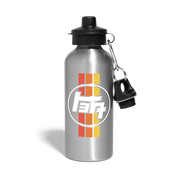 TEQ Vintage Water Bottle - silver