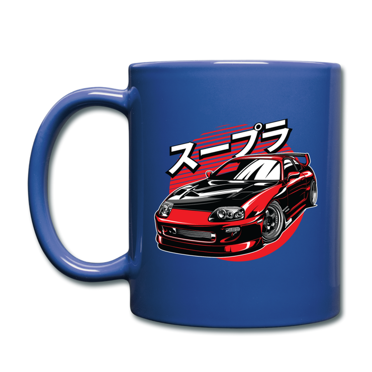 Red Supra Mug - royal blue