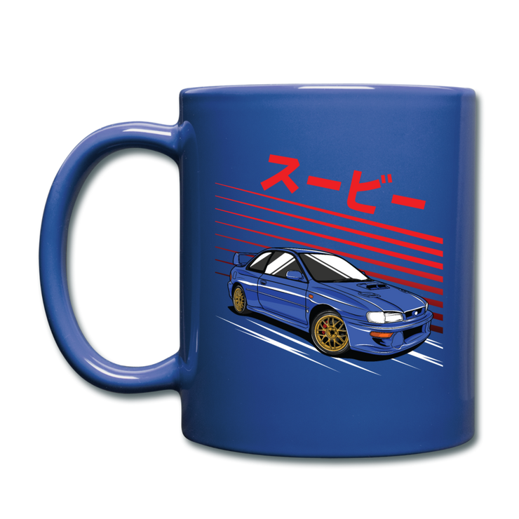 Impreza Hero Mug - royal blue