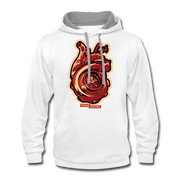 Turbo Heart Hoodie - white/gray