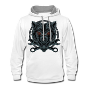 Wrench Wolf Hoodie - white/gray