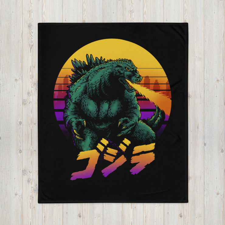 Gojira Retrowave Blanket