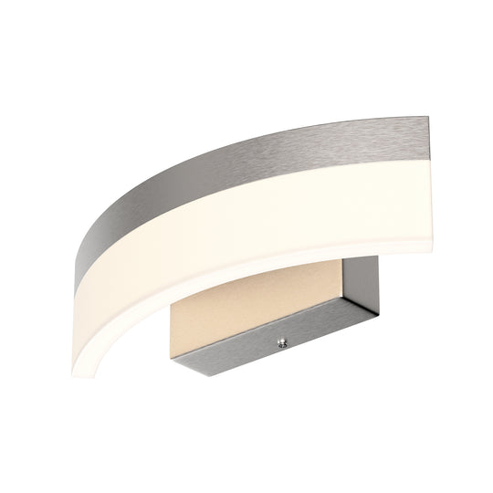 Wall Sconces and Wall Light Fixtures, 9W, 3000K (Warm White), 500 LM, Brushed Nickel Finish