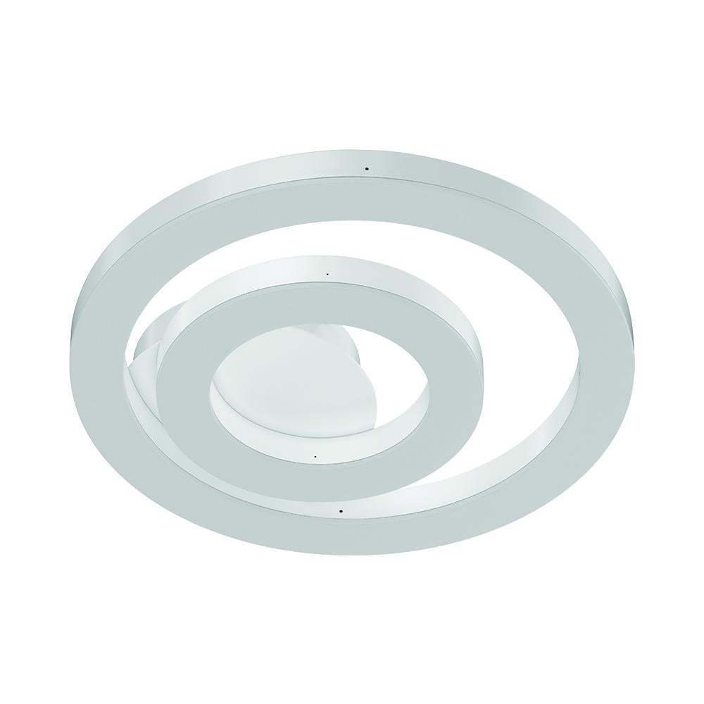 Bright White - Indoor LED Ceiling Lights - 26W - 3000K-6500K - 1300LM - Dimmable - Simple Close to Ceiling Fixtures - 2-Ring Shape