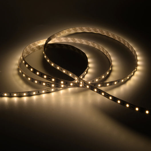 White LED Tape Light & LED Strip Light, High-CRI, 12V, 260 Lumens/ft, IP20-(Indoor)
