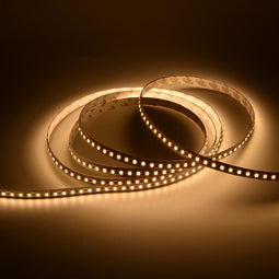 White LED Strip Lights, 3000K/4000K/ 6500K, Dimmable, SMD 2835, High-CRI, 371 lm/ft,  IP20 (Indoor)