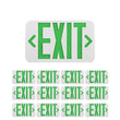 Load image into Gallery viewer, 4W Green LED Exit Sign, Double Sided, UL,CUL Listed, 90 min Backup Battery