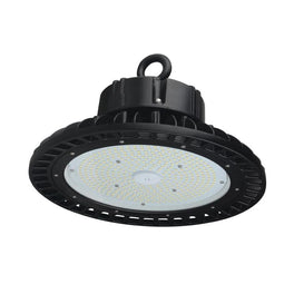 150W Black UFO LED High Bay Light, 5700K (Daylight White), 525 Watt Replacement, 21000lm, Dimmable, UL, DLC,