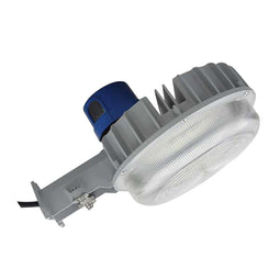 Commercial LED Dusk to Dawn Outdoor Light 55W 5700K with Photocell, Security Lighting