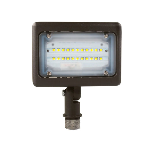 LED Flood Light; 15W Knuckle Mount ; 5700K ; Bronze