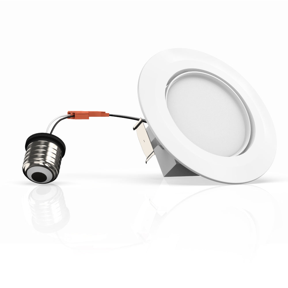 4-inch LED Eyeball Dimmable Downlight ; 10W