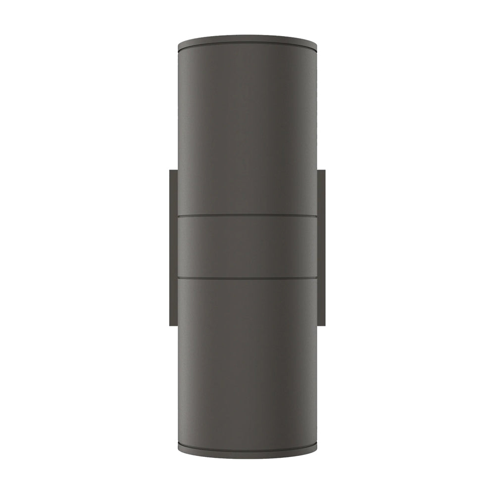 Cylinder Lights - Outdoor Wall Lighting - 2x36W, AC100- 277V, LED Up & Down Light, Double Side (White Light)