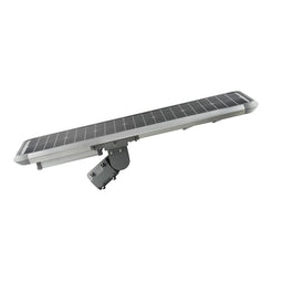 30W Solar LED Street Light ; 5700K ; 18VDC ; Silver