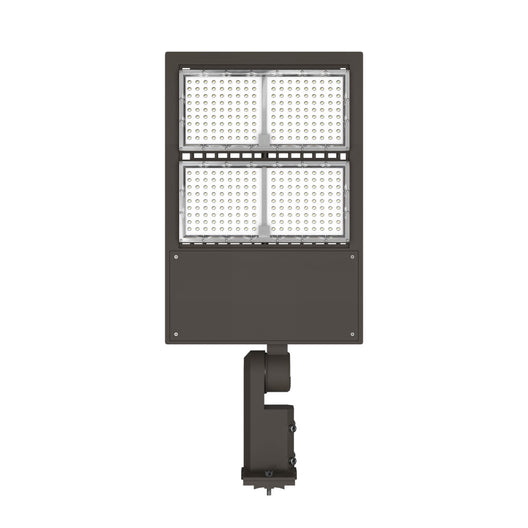 240W LED Pole Light With Photocell ; 3000K ; Universal Mount ; Bronze ; AC100-277V