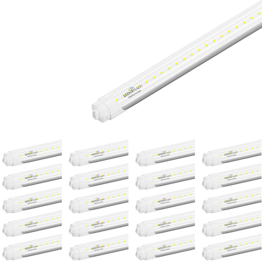 T8 8ft 48w R17 Tube Light; 5760 lumens; 5000k