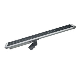50W Solar LED Street Light ; 5700K AC100-277V ; Silver