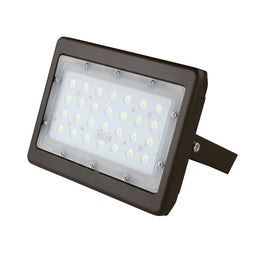 50 Watt LED Flood Lights, 5700K, 6250LM Bright Outdoor Floodlights, U-Bracket Mount, Bronze Finish