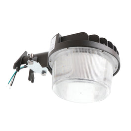 LED Dusk to Dawn Light, 35W  120-277V, 5700K Bronze, With Photocell, Use As LED Yard Light/LED Security Light