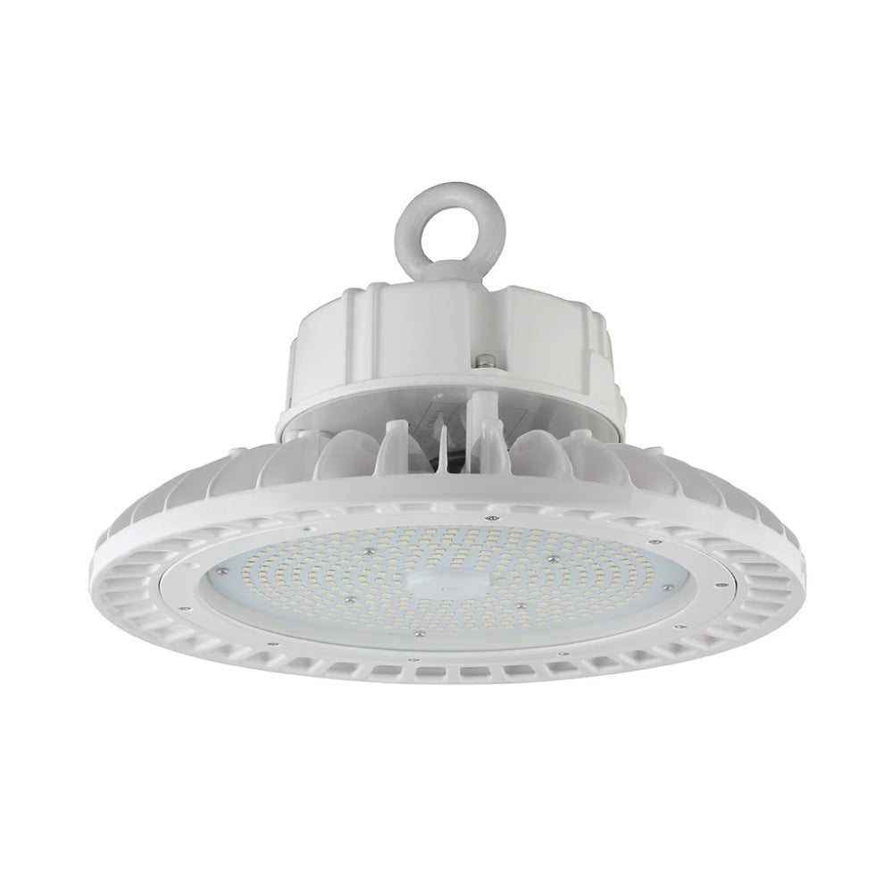 150W LED High Bay UFO Light ; 5700K ; AC100-277V  ; White