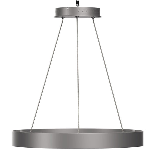 Modern Round Chandeliers with unique design Shade - 49W - 3000K - 2450LM - Dimmable - Pendant Mounting - CRI: 80+ - Aluminum Body Finish