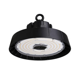 240W Black Round UFO LED High Bay Light, 5700K (Daylight White), 840 Replacement, 36000lm, Dimmable, UL, DLC
