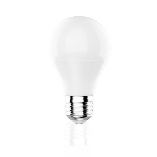 A19 Dimmable LED Light Bulb, 9.8W, 6500K (Cool White), 800 Lumens, (E26)
