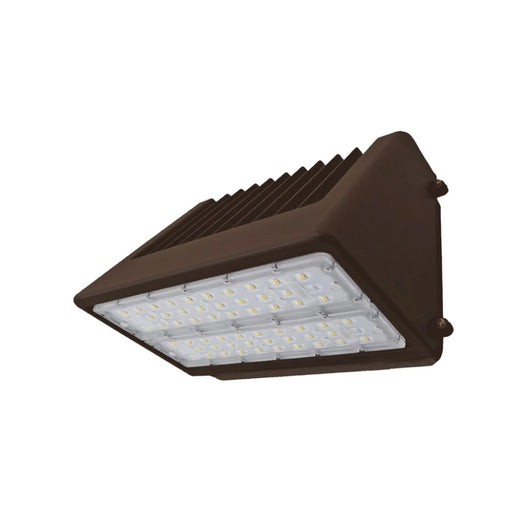 100W LED Wall Pack Light; 5700K ; Bronze; AC100-277V; Full cut-off
