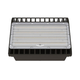 1-Pack; LED Wall Pack Semi Cut Off ; 4000K