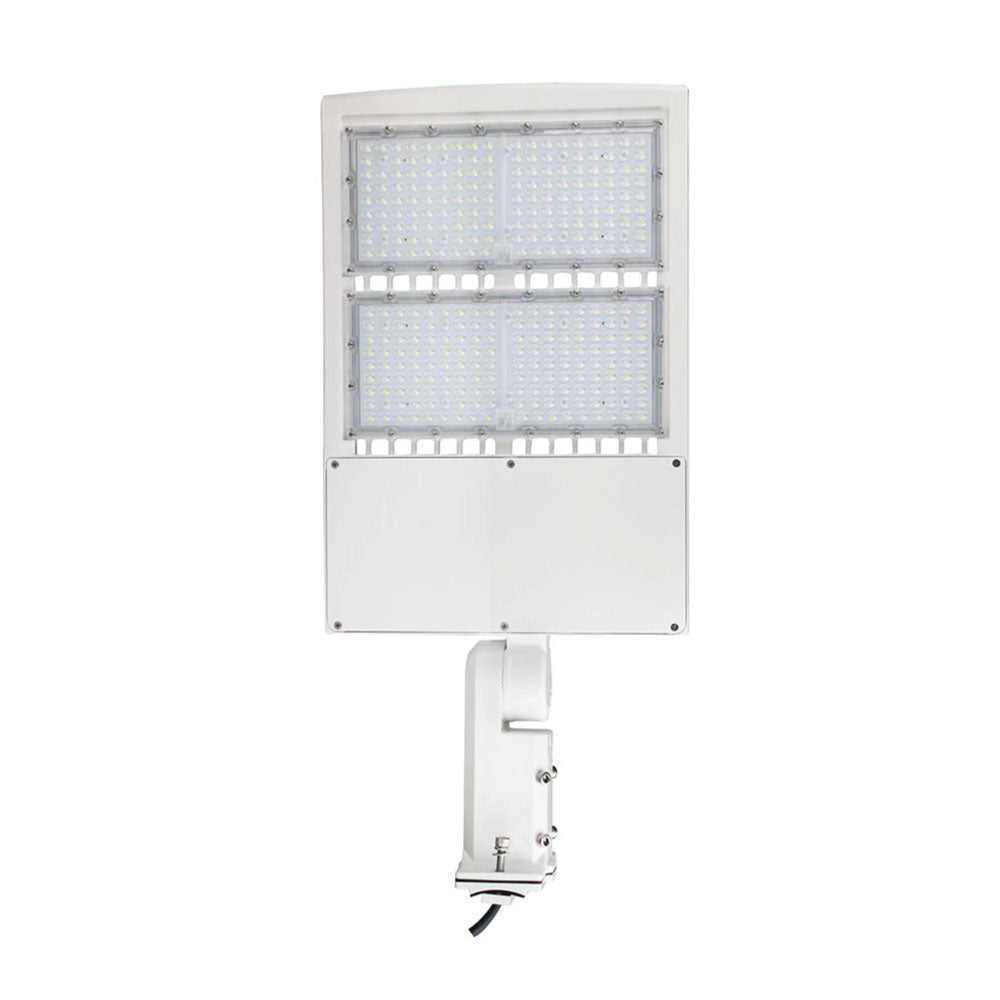 LED Parking Lot Pole Light Fixtures With Photocell
