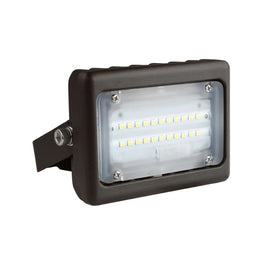 15 watt LED Flood Light, 5700K, 1730LM, Bronze, 55 Watt Replacement, UL Listed, Waterproof, Security Lights