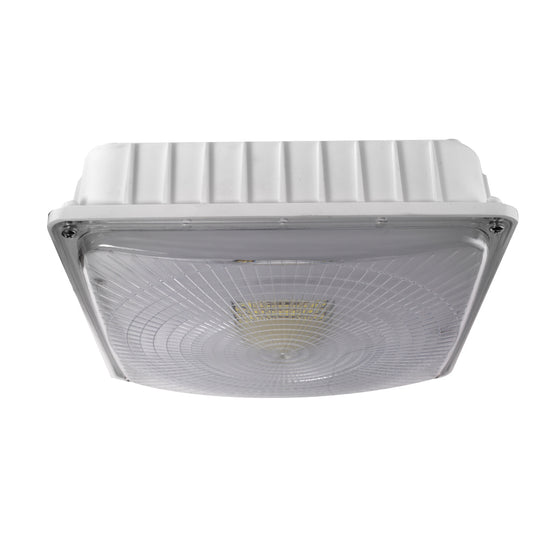 LED Dimmable Canopy Light, 45W 120-277V AC, 5700K White