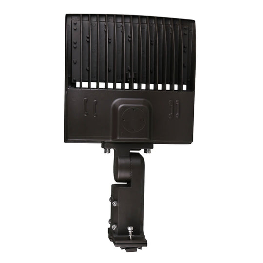 150W LED Parking Lot Lights, AC100-277V, 5700K, Universal Mount, Bronze, Commercial Outdoor Lighting