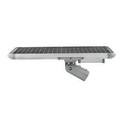 20W Solar LED Street Light ; 5700K ; 18VDC ; Silver