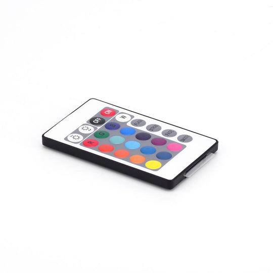 Infrared RGB LED Controller with Wireless IRC Remote