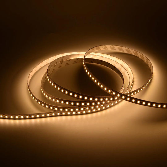 White LED Strip Light CCT 3000K, 4000K, 6500K, - 24V - IP20 - 879 Lumens/ft with Power Supply and Controller (KIT)