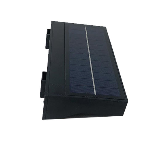 Solar panel LED Wallpack
