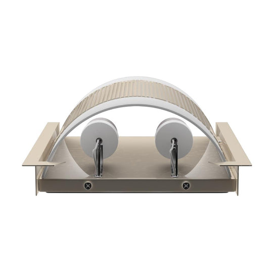 "2-Light Brushed Nickel Wall Sconce, White Glass Shade, With 2 USB, 2 Switch and 1 Outlet, Dimension: W10"" x H11.75"" x E4"""