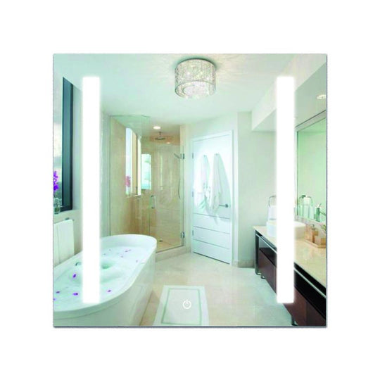 "36"" x 36"" LED Bathroom Lighted Mirror & Defogger On/Off Touch Switch & CCT Changeable With Remembrance, Vertical"