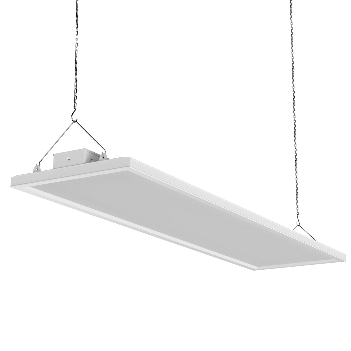 4ft LED Linear High Bay Light, 225W, 800 Watt Replacement, 30150lm, Dimmable, UL, DLC Listed