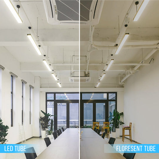 Ballast Compatible T8 4ft 20W LED Tube 3000 Lumens 5000K Frosted