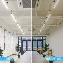 Load image into Gallery viewer, T8 8ft 48W R17 LED Tube Light 5800 Lumens 6500K Clear