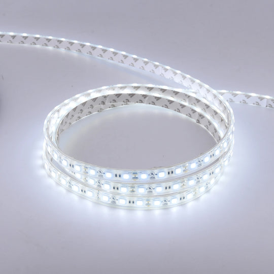 LED Strip Light, Waterproof, 3000K (Soft White)/4000K (Cool White)/6500K (Crystal White), SMD 5050 - 12V - 378 Lumens/ft.