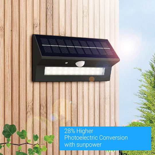Smart LED Solar Wall Lamp with PIR Sensor